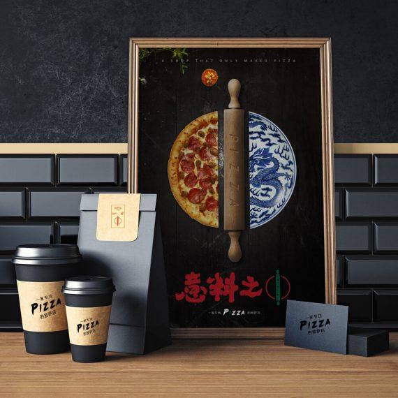 Four Columns Wide-上海野火创意