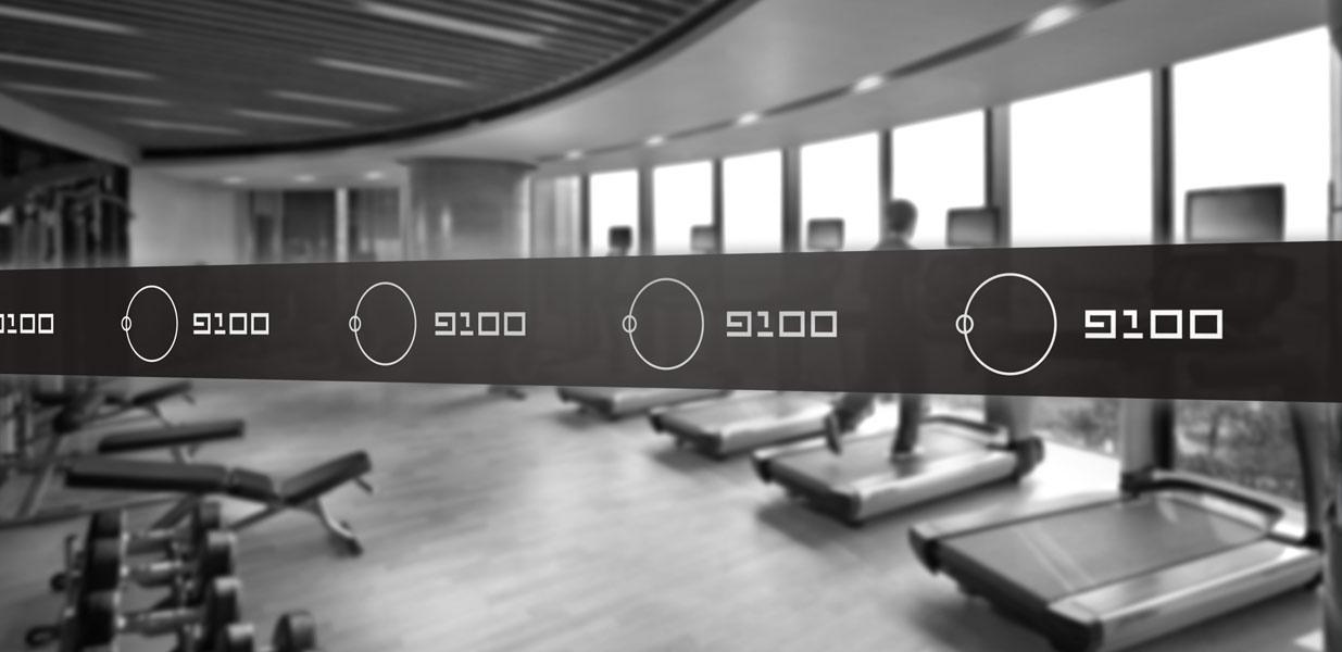 9100健身会馆-上海野火创意