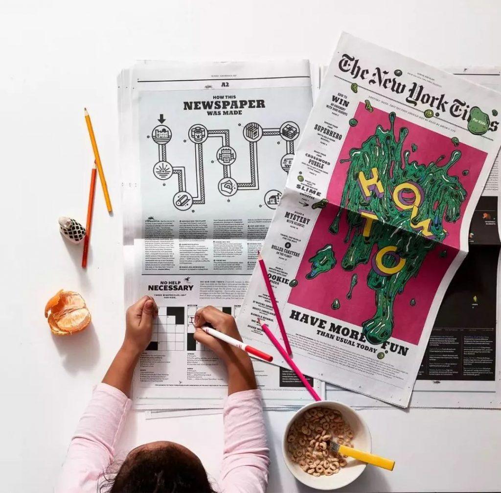 纽约时报:童心未泯。-上海野火创意